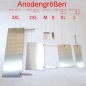 Preview: Alu Anode A2988A/ XL, 2XL, 3XL